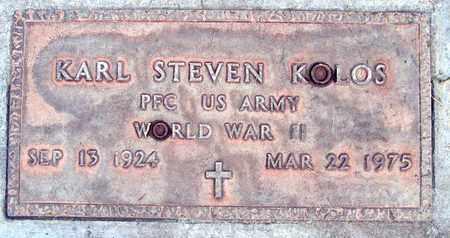 KOLOS, KARL STEVEN - Sutter County, California | KARL STEVEN KOLOS - California Gravestone Photos