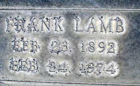 LAMB, FRANK - Sutter County, California   FRANK LAMB - California Gravestone Photos