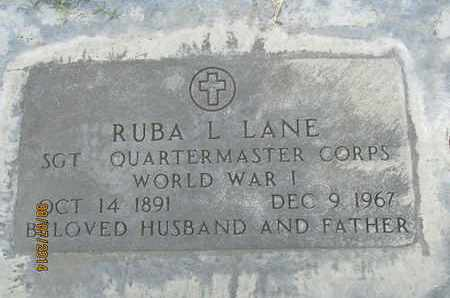 LANE, RUBA L. - Sutter County, California | RUBA L. LANE - California Gravestone Photos
