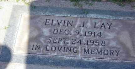 LAY, ELVIN J. - Sutter County, California   ELVIN J. LAY - California Gravestone Photos