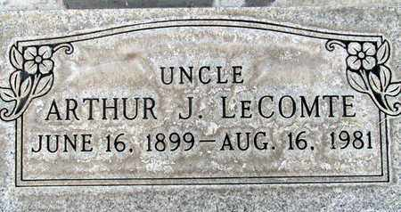 LECOMTE, ARTHUR J. - Sutter County, California | ARTHUR J. LECOMTE - California Gravestone Photos
