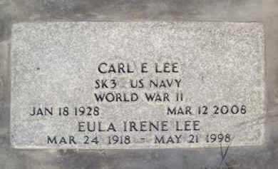 LEE, EULA IRENE - Sutter County, California | EULA IRENE LEE - California Gravestone Photos