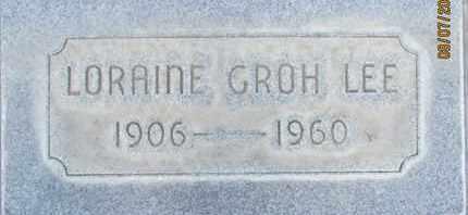 LEE, LORAINE - Sutter County, California | LORAINE LEE - California Gravestone Photos