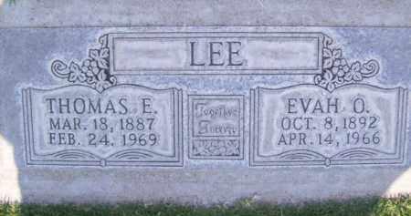 LEE, EVAH O. - Sutter County, California | EVAH O. LEE - California Gravestone Photos