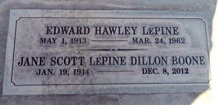 LEPINE, EDWARD HAWLEY - Sutter County, California   EDWARD HAWLEY LEPINE - California Gravestone Photos