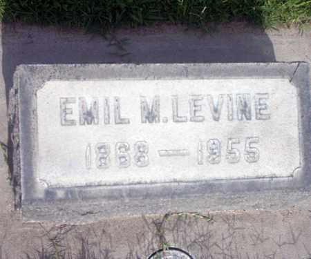 LEVINE, EMIL - Sutter County, California | EMIL LEVINE - California Gravestone Photos