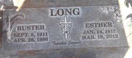 LONG, BUSTER - Sutter County, California | BUSTER LONG - California Gravestone Photos