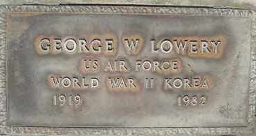 LOWERY, GEORGE W. - Sutter County, California | GEORGE W. LOWERY - California Gravestone Photos