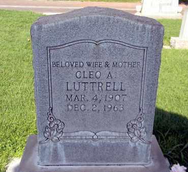 LUTTRELL, CLEO A. - Sutter County, California   CLEO A. LUTTRELL - California Gravestone Photos
