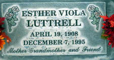 LUTTRELL, ESTHER VIOLA - Sutter County, California | ESTHER VIOLA LUTTRELL - California Gravestone Photos
