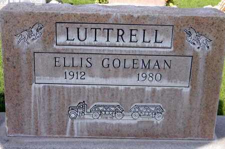 LUTTRELL, ELLIS GOLEMAN - Sutter County, California | ELLIS GOLEMAN LUTTRELL - California Gravestone Photos