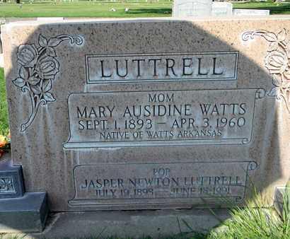 LUTTRELL, MARY AUSIDINE - Sutter County, California | MARY AUSIDINE LUTTRELL - California Gravestone Photos