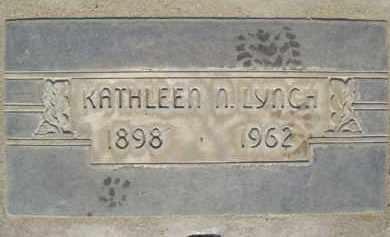 LYNCH, KATHLEEN NORA - Sutter County, California | KATHLEEN NORA LYNCH - California Gravestone Photos