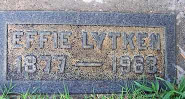 LYTKEN, EFFIE - Sutter County, California | EFFIE LYTKEN - California Gravestone Photos