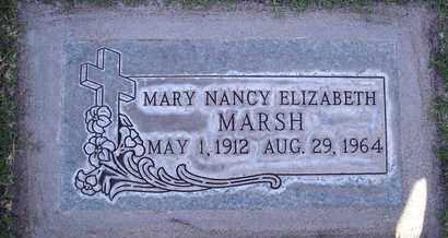 MARSH, MARY NANCY ELIZABETH - Sutter County, California | MARY NANCY ELIZABETH MARSH - California Gravestone Photos
