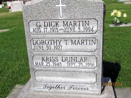 MARTIN, G. DICK - Sutter County, California   G. DICK MARTIN - California Gravestone Photos