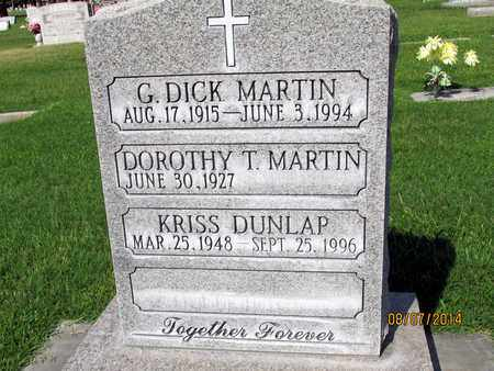 MARTIN, DOROTHY T. - Sutter County, California | DOROTHY T. MARTIN - California Gravestone Photos