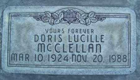 MC CLELLAN, DORIS LUCILLE - Sutter County, California | DORIS LUCILLE MC CLELLAN - California Gravestone Photos