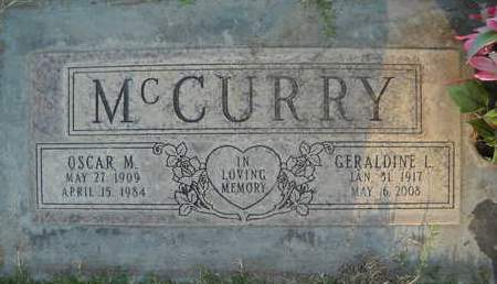 MC CURRY, OSCAR MONROE - Sutter County, California | OSCAR MONROE MC CURRY - California Gravestone Photos