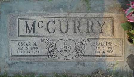 MC CURRY, GERALDINE LOUISE - Sutter County, California   GERALDINE LOUISE MC CURRY - California Gravestone Photos