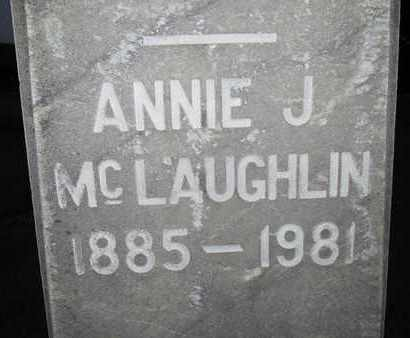 MCLAUGHLIN, ANNIE JOSEPHINE - Sutter County, California   ANNIE JOSEPHINE MCLAUGHLIN - California Gravestone Photos