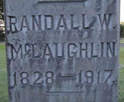 MCLAUGHLIN, RANDALL W. - Sutter County, California   RANDALL W. MCLAUGHLIN - California Gravestone Photos