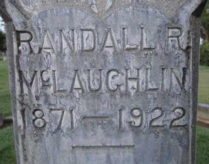 MCLAUGHLIN, RANDALL R. - Sutter County, California   RANDALL R. MCLAUGHLIN - California Gravestone Photos