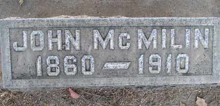 MCMILIN, JOHN - Sutter County, California | JOHN MCMILIN - California Gravestone Photos
