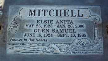MITCHELL, ELSIE ANITA - Sutter County, California | ELSIE ANITA MITCHELL - California Gravestone Photos
