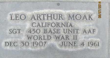 MOAK, LEO ARTHUR - Sutter County, California | LEO ARTHUR MOAK - California Gravestone Photos