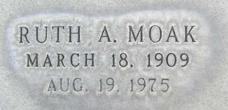MOAK, RUTH AGNES - Sutter County, California | RUTH AGNES MOAK - California Gravestone Photos