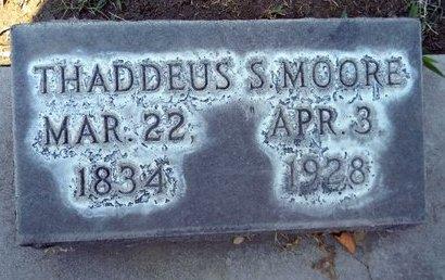 MOORE, THADDEUS SOBIESK - Sutter County, California | THADDEUS SOBIESK MOORE - California Gravestone Photos