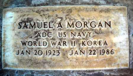 MORGAN, SAMUEL ARTHUR - Sutter County, California | SAMUEL ARTHUR MORGAN - California Gravestone Photos