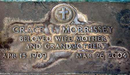 MORRISSEY, GRACE L. - Sutter County, California   GRACE L. MORRISSEY - California Gravestone Photos