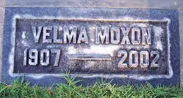 MOXON, VELMA ARLENE - Sutter County, California   VELMA ARLENE MOXON - California Gravestone Photos