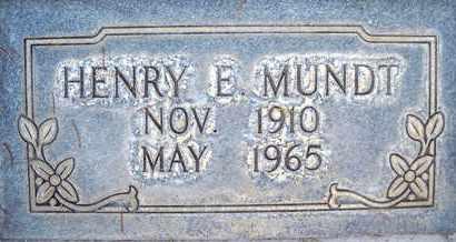 MUNDT, HENRY E. - Sutter County, California | HENRY E. MUNDT - California Gravestone Photos