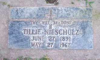 NIESCHULZ, OTTILIA - Sutter County, California   OTTILIA NIESCHULZ - California Gravestone Photos