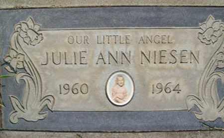 NIESEN, JULIE ANN - Sutter County, California | JULIE ANN NIESEN - California Gravestone Photos