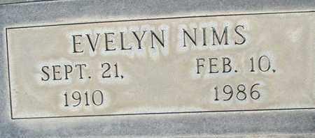 NIMS, EVELYN J. - Sutter County, California   EVELYN J. NIMS - California Gravestone Photos