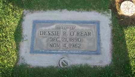 O' REAR, DESSIE R. - Sutter County, California | DESSIE R. O' REAR - California Gravestone Photos
