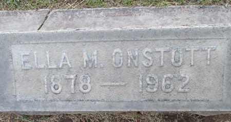 ONSTOTT, ELLA MAY - Sutter County, California | ELLA MAY ONSTOTT - California Gravestone Photos