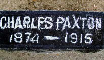 PAXTON, CHARLES - Sutter County, California | CHARLES PAXTON - California Gravestone Photos