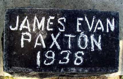 PAXTON, JAMES EVAN - Sutter County, California   JAMES EVAN PAXTON - California Gravestone Photos