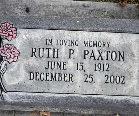 PAXTON, RUTH P. - Sutter County, California   RUTH P. PAXTON - California Gravestone Photos
