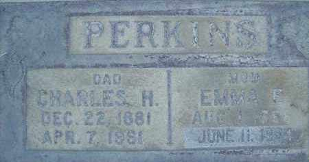 PERKINS, EMMA E. - Sutter County, California | EMMA E. PERKINS - California Gravestone Photos