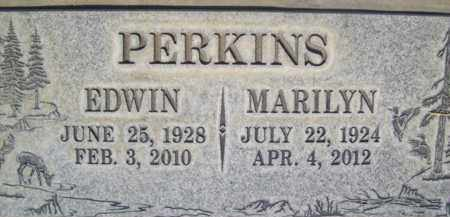 PERKINS, EDWIN JOHNSON - Sutter County, California | EDWIN JOHNSON PERKINS - California Gravestone Photos