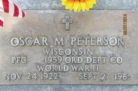 PETERSON, OSCAR M. - Sutter County, California | OSCAR M. PETERSON - California Gravestone Photos