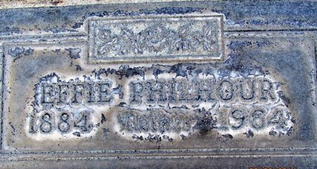 PHILHOUR, EFFIE - Sutter County, California | EFFIE PHILHOUR - California Gravestone Photos