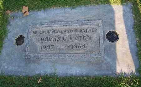 PICTON, THOMAS G. - Sutter County, California | THOMAS G. PICTON - California Gravestone Photos