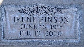 PINSON, IRENE OLA - Sutter County, California | IRENE OLA PINSON - California Gravestone Photos